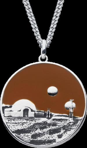 Tatooine Planetary Medallion Jewelry