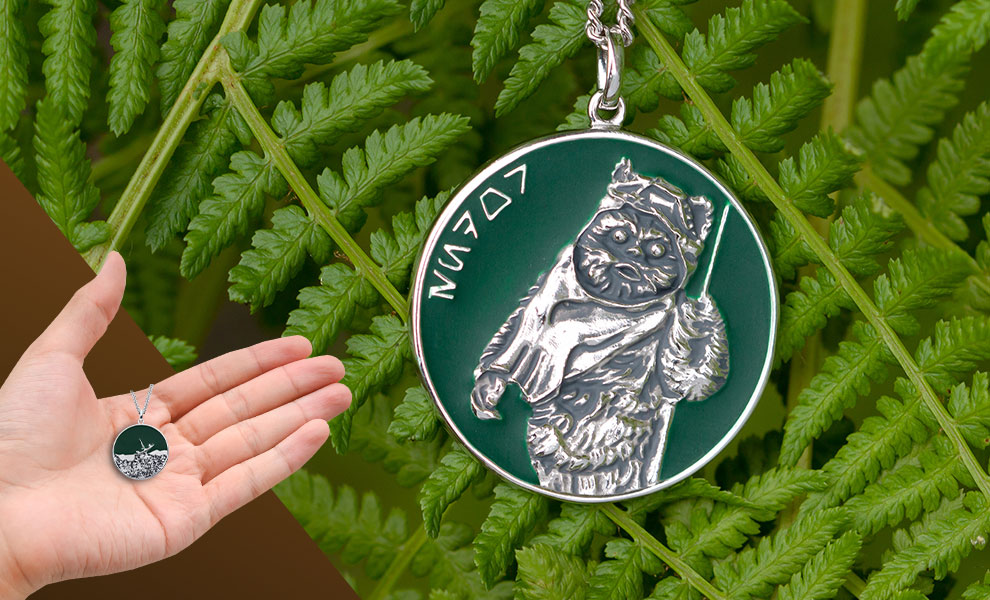 Gallery Feature Image of Endor Planetary Medallion Jewelry - Click to open image gallery