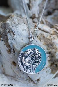 Gallery Image of Hoth Planetary Medallion Jewelry