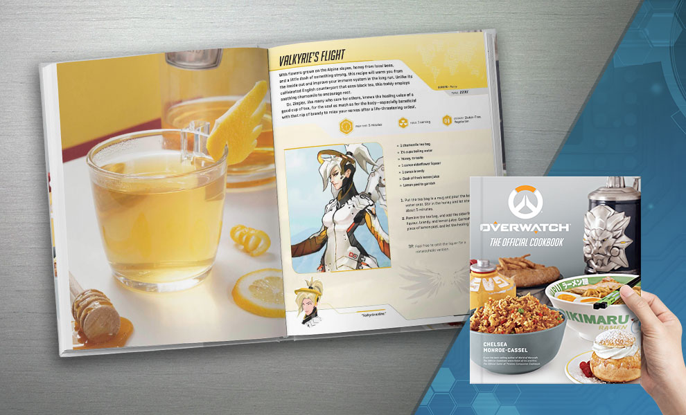 Gallery Feature Image of Overwatch: The Official Cookbook Book - Click to open image gallery