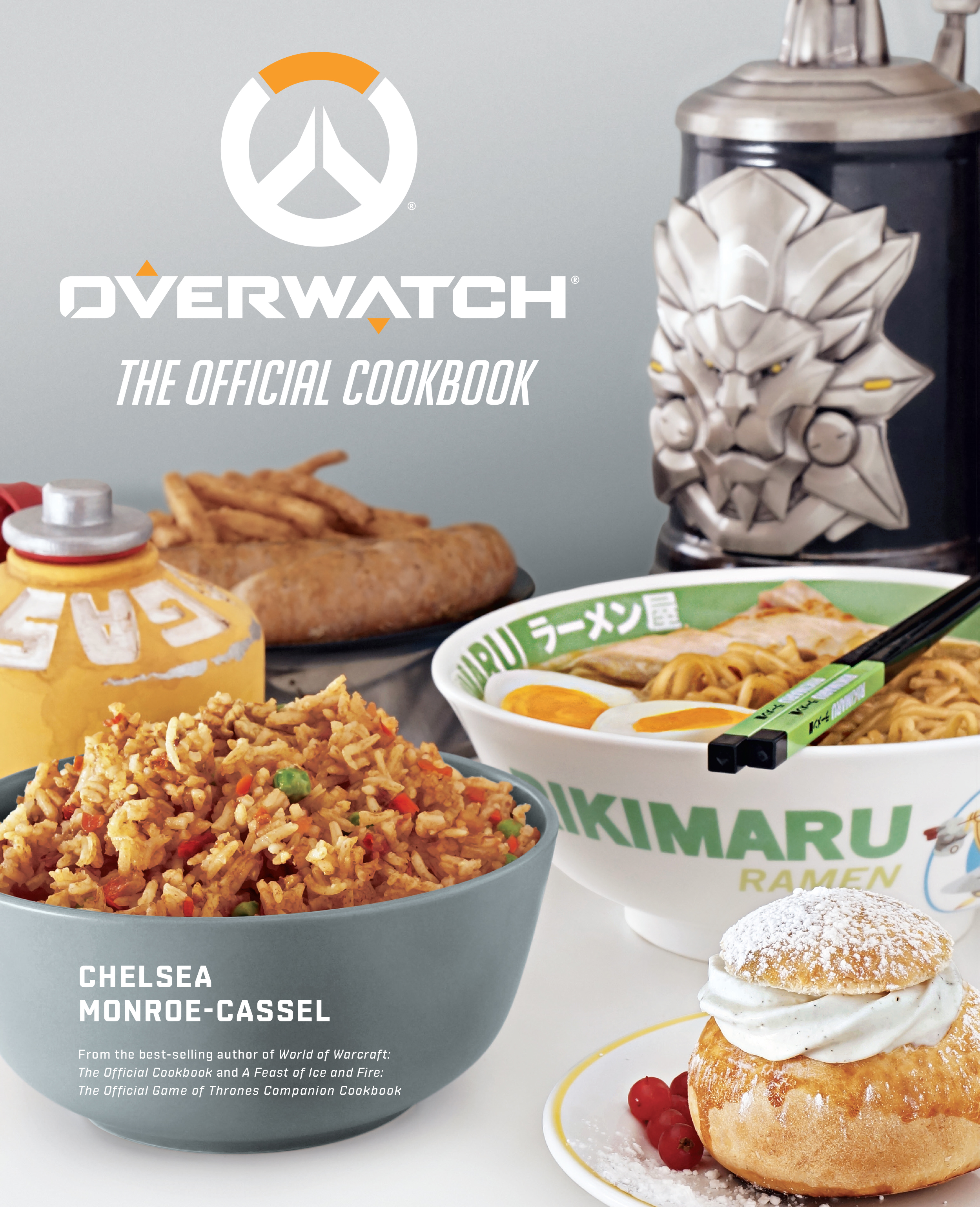 Insight Editions Overwatch: The Official Cookbook Book