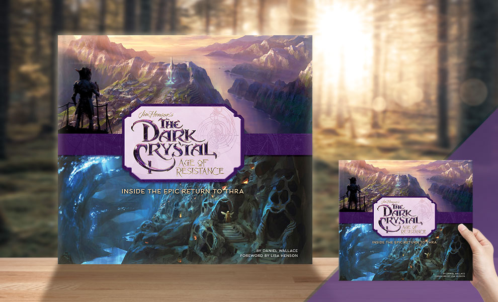 Gallery Feature Image of The Dark Crystal: Age of Resistance Book - Click to open image gallery