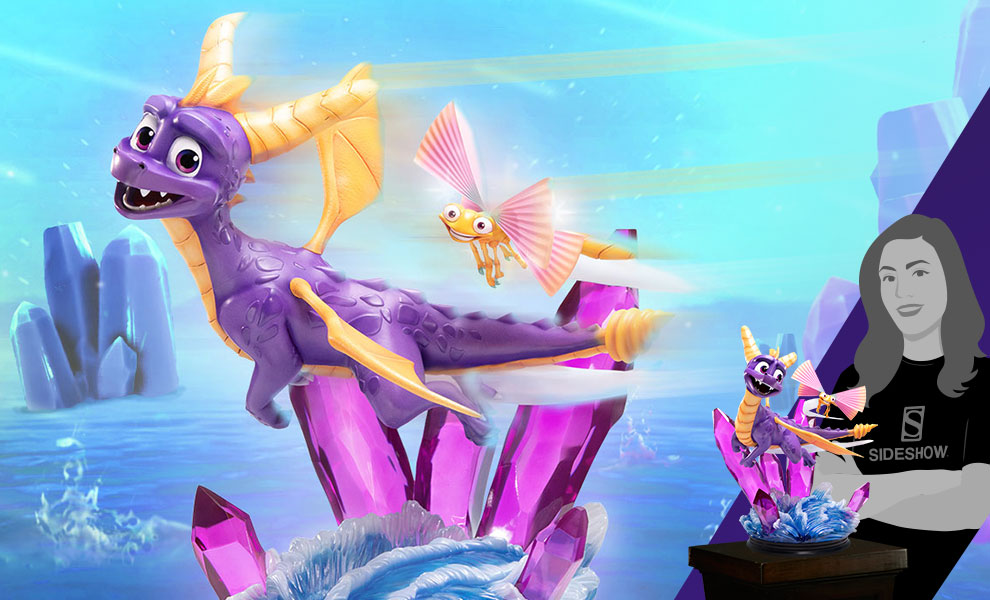 Gallery Feature Image of Spyro Statue - Click to open image gallery