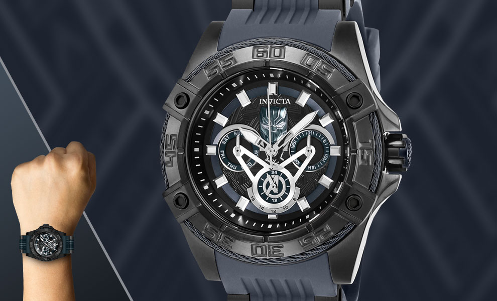 Gallery Feature Image of Black Panther Watch - Model 27029 Jewelry - Click to open image gallery