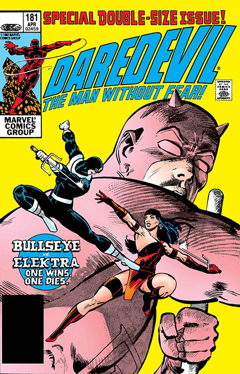 Dynamic Forces Daredevil #181 Book