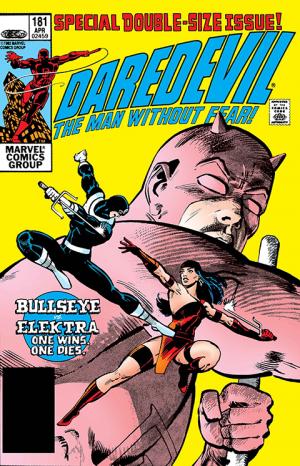 Daredevil #181 Book