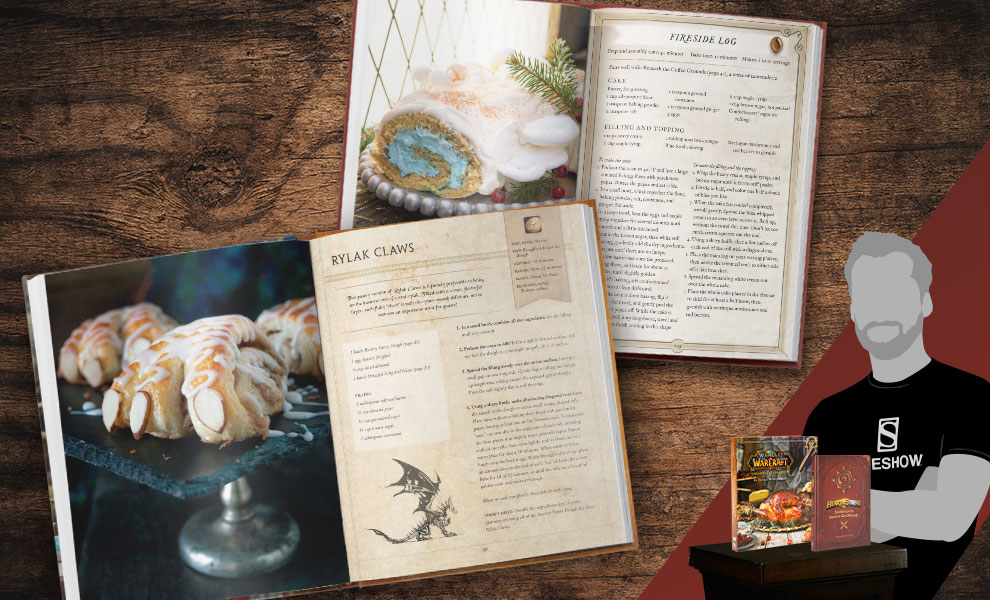 Gallery Feature Image of World of Warcraft and Hearthstone Cookbook Set Book - Click to open image gallery