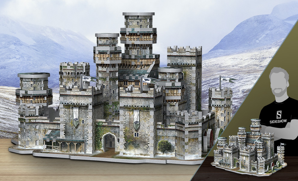 Gallery Feature Image of Winterfell 3D Puzzle Puzzle - Click to open image gallery