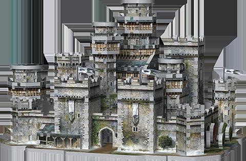 Wrebbit Puzzles Inc. Winterfell 3D Puzzle Puzzle