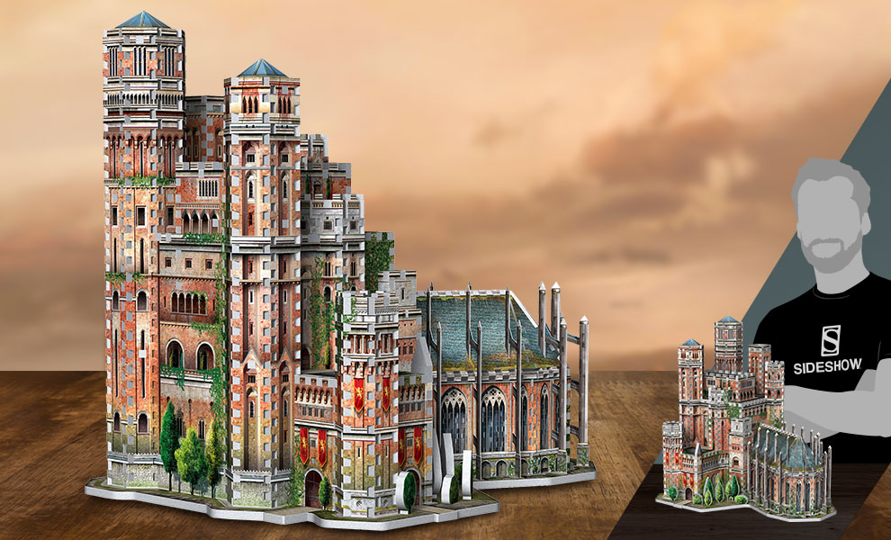 Gallery Feature Image of The Red Keep 3D Puzzle Puzzle - Click to open image gallery