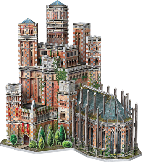Wrebbit Puzzles Inc. The Red Keep 3D Puzzle Puzzle