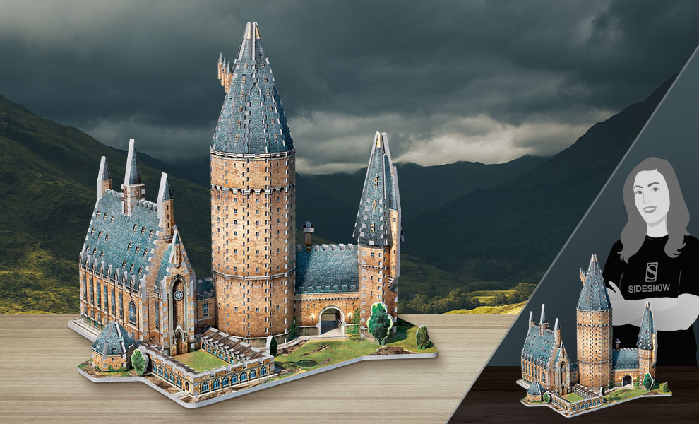 Gallery Feature Image of Hogwarts - Great Hall 3D Puzzle Puzzle - Click to open image gallery