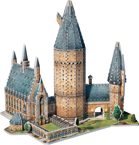 Wrebbit Puzzles Inc. Hogwarts - Great Hall 3D Puzzle Puzzle