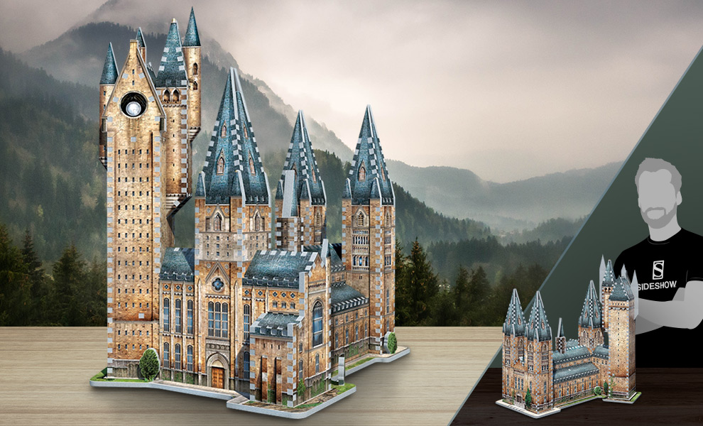 Gallery Feature Image of Hogwarts - Astronomy Tower 3D Puzzle Puzzle - Click to open image gallery