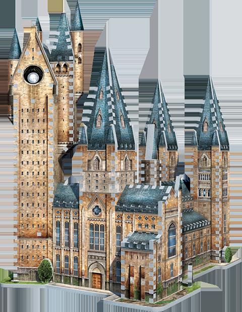 Wrebbit Puzzles Inc. Hogwarts - Astronomy Tower 3D Puzzle Puzzle