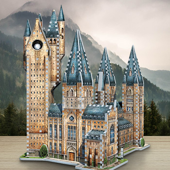 Hogwarts - Astronomy Tower 3D Puzzle Harry Potter Puzzle