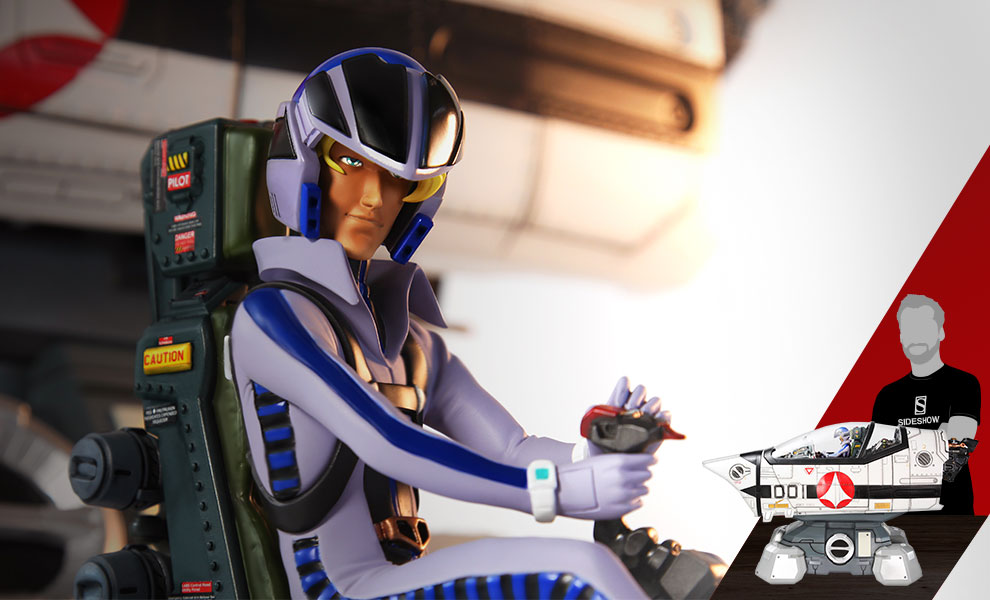 Gallery Feature Image of Robotech Macross VF-1S Cockpit Diorama - Click to open image gallery