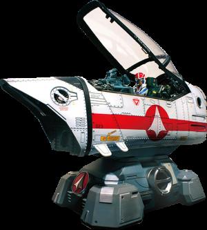 Robotech Macross VF-1J Cockpit Diorama