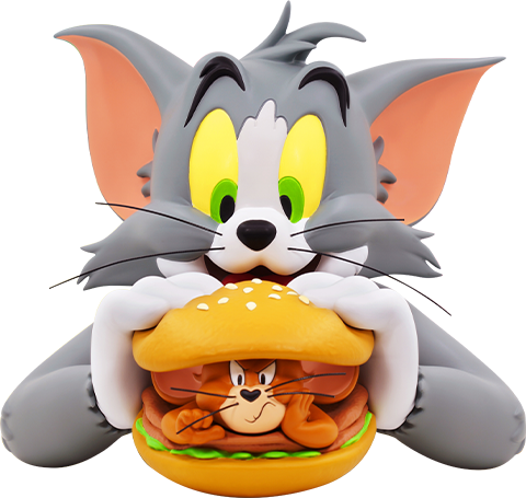 Soap Studio Tom and Jerry Burger Bust