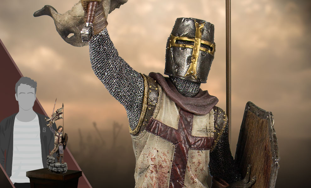Gallery Feature Image of Templar's Reign Statue - Click to open image gallery