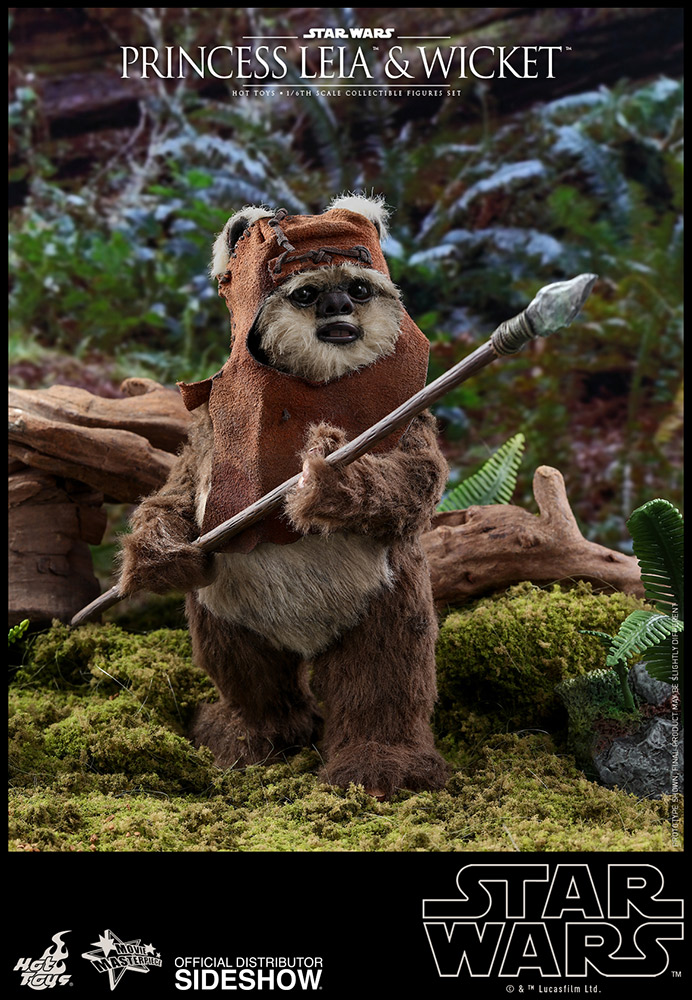 princess leia return of the jedi ewok