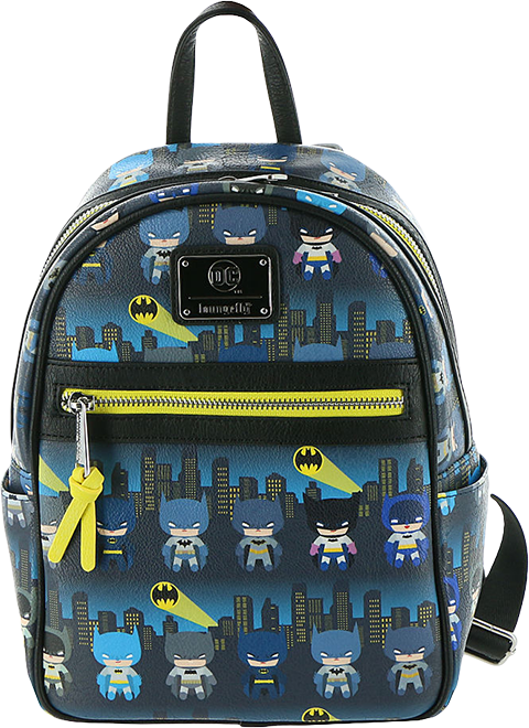 Loungefly Batman 80th Anniversary Chibi Mini Backpack Apparel