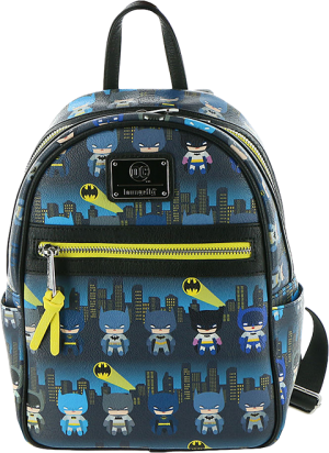 Batman 80th Anniversary Chibi Mini Backpack Apparel