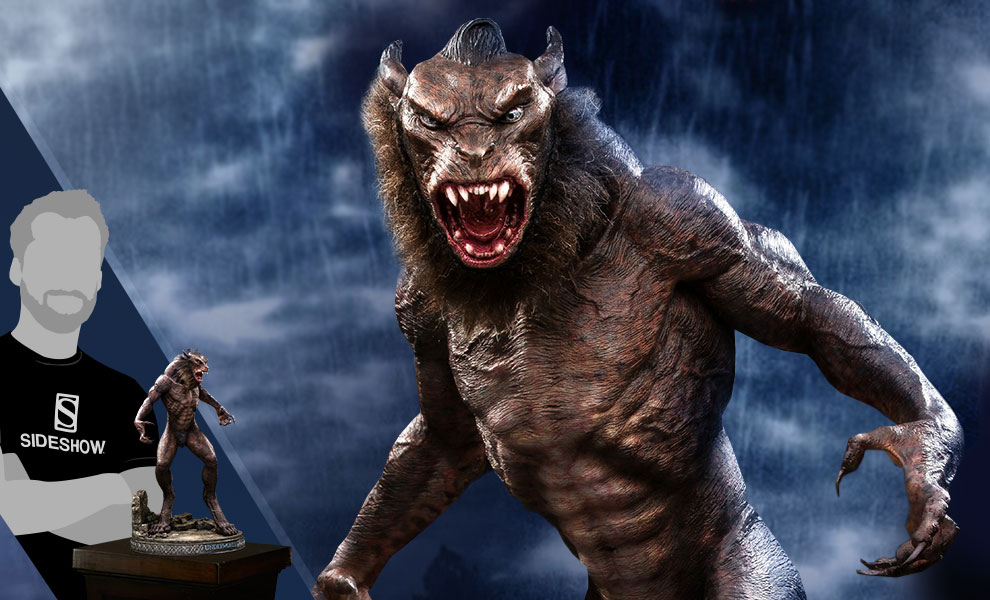 Gallery Feature Image of Lycan Deluxe Statue - Click to open image gallery