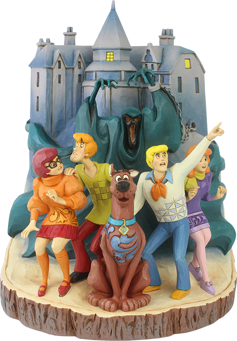 Enesco, LLC Scooby-Doo Carved by Heart Figurine