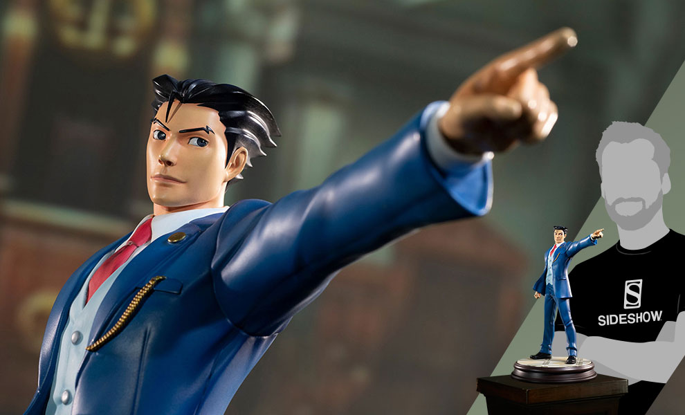Gallery Feature Image of Phoenix Wright Statue - Click to open image gallery