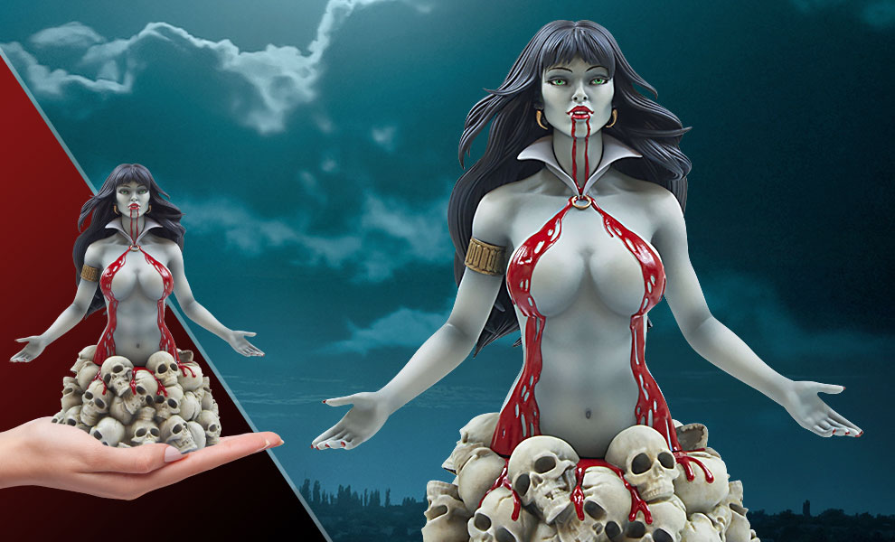 Gallery Feature Image of Vampirella Bust - Click to open image gallery