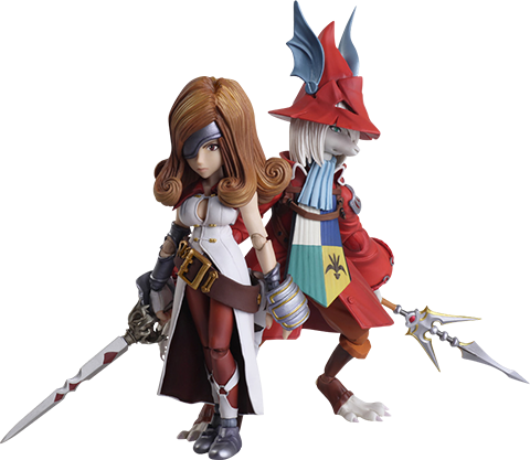 Square Enix Freya Crescent & Beatrix Collectible Set