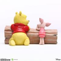 Gallery Image of Pooh and Piglet by Log Figurine