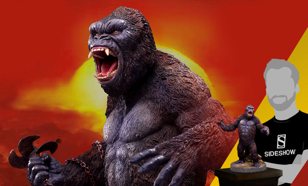 Gallery Feature Image of Kong 2.0 Deluxe Statue - Click to open image gallery