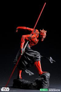 Gallery Image of Darth Maul (Japanese Ukiyo-e Style) Statue