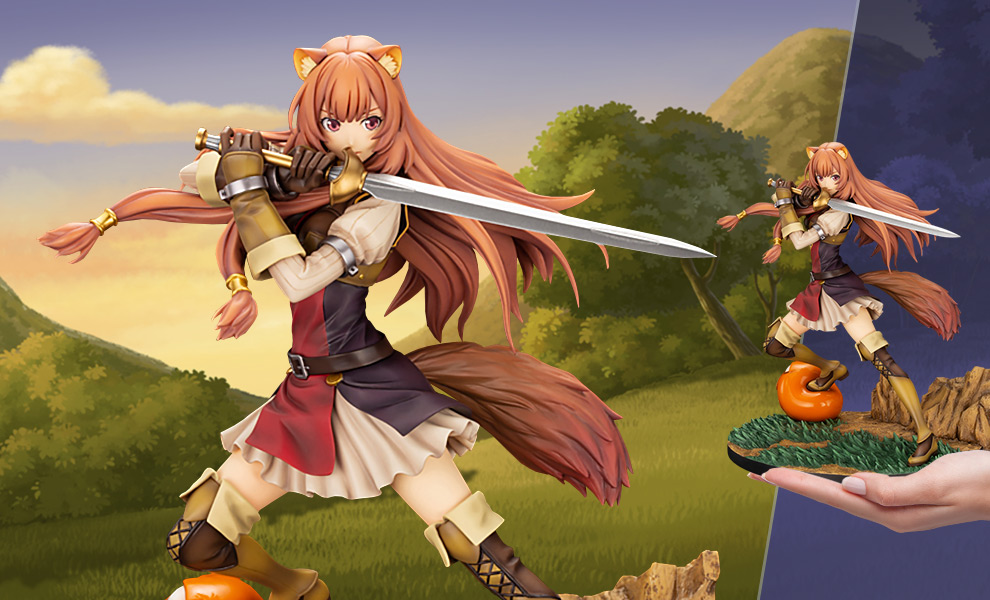Raphtalia ani the rising of the shield hero statue sideshow collectibles - The rising of the shield hero raphtalia ...
