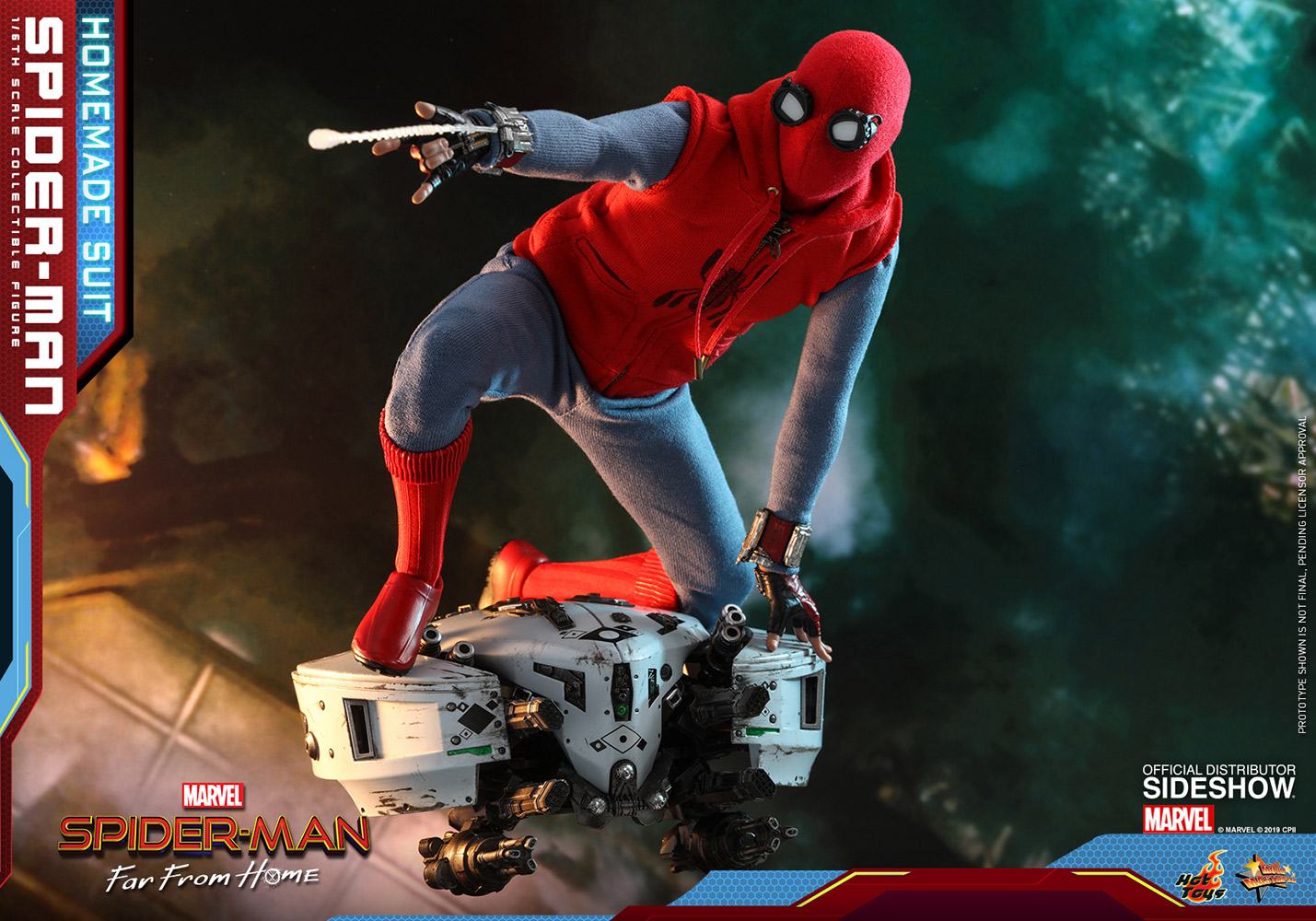 Spider Man Homemade Suit Sixth Scale Figure Sideshow Collectibles