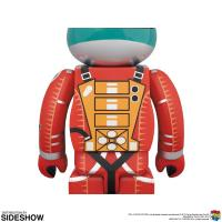 Gallery Image of Be@rbrick Space Suit (Green Helmet & Orange Suit Version) 100% and 400% Collectible Set