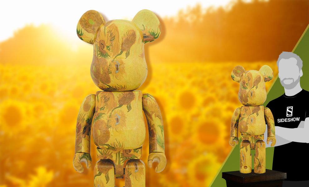 Gallery Feature Image of Be@rbrick Van Gogh Museum Sunflowers 1000% Figure - Click to open image gallery