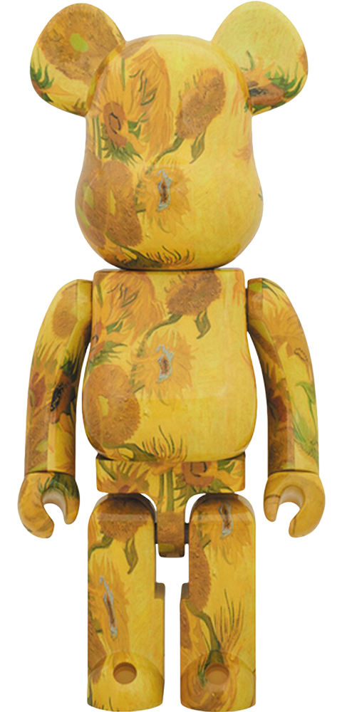 Medicom Toy Be@rbrick Van Gogh Museum Sunflowers 1000% Figure