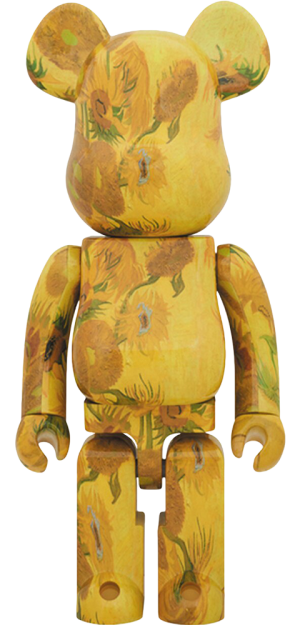 Be@rbrick Van Gogh Museum Sunflowers 1000% Figure