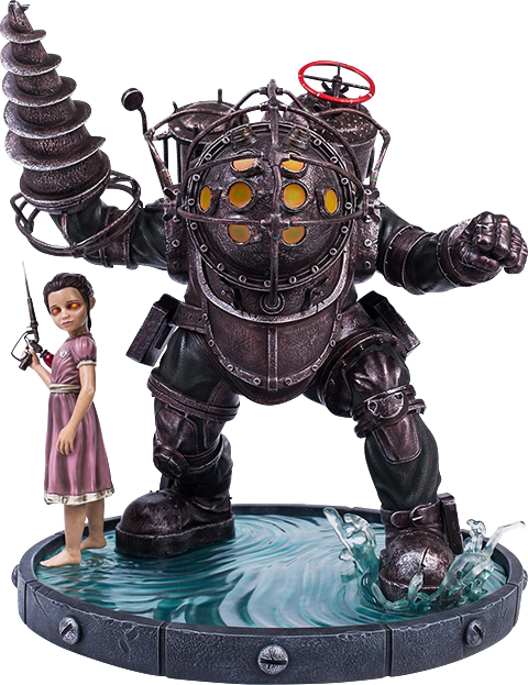 Gaming Heads Big Daddy Bouncer Statue