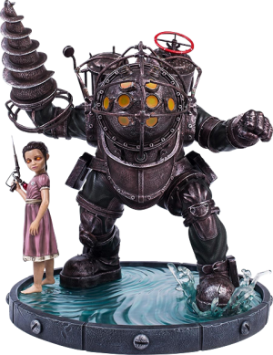 Big Daddy Bouncer Statue