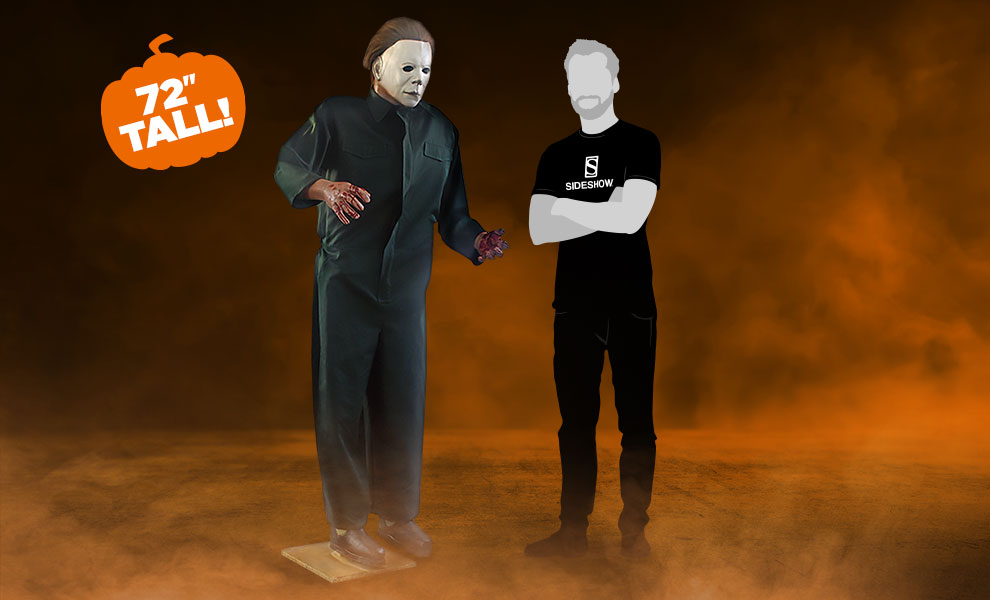 Gallery Feature Image of Halloween II Static Standing Prop Prop Replica - Click to open image gallery
