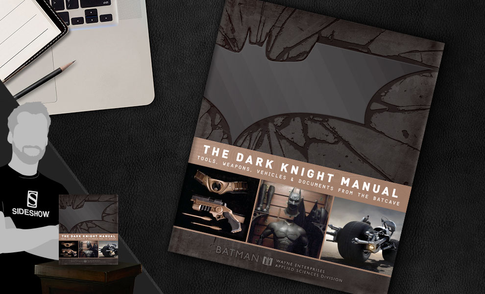 Gallery Feature Image of The Dark Knight Manual: Tools, Weapons, Vehicles & Documents from the Batcave Book - Click to open image gallery