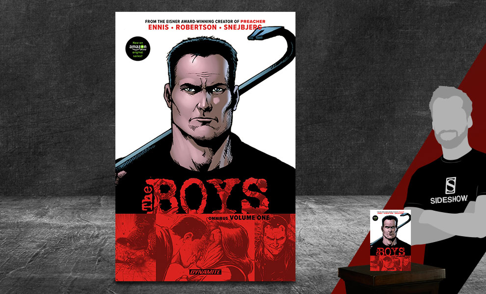 Gallery Feature Image of The Boys Omnibus Vol. 1 Book - Click to open image gallery