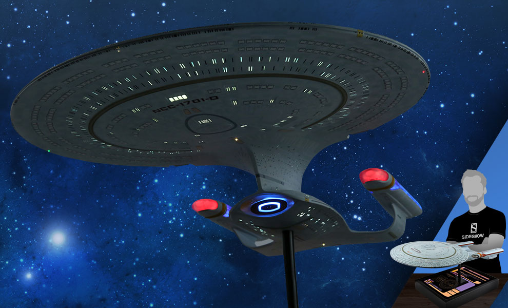 Gallery Feature Image of USS Enterprise NCC-1701-D Replica - Click to open image gallery