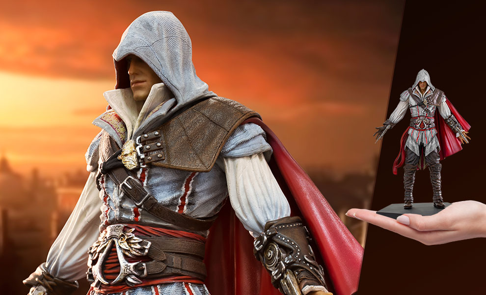 Gallery Feature Image of Ezio Auditore 1:10 Scale Statue - Click to open image gallery