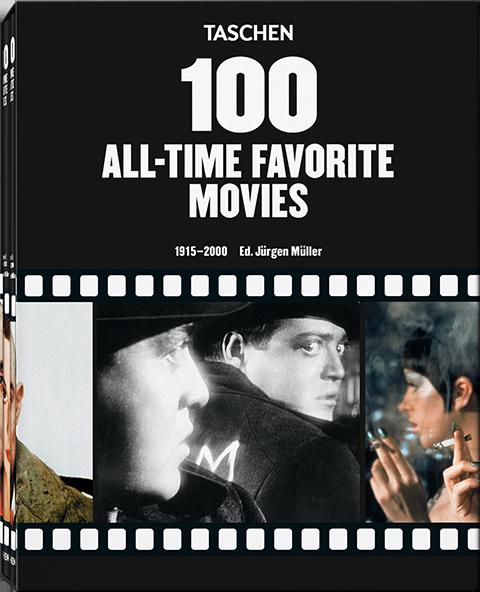 TASCHEN 100 All Time Favorite Movies Book