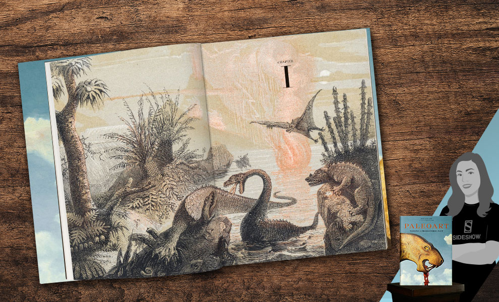 Gallery Feature Image of Paleoart - Visions of the Prehistoric Past Book - Click to open image gallery